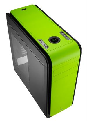 Picture of Aerocool DS 200 Green/Black Edition Mid-Tower Case With Window