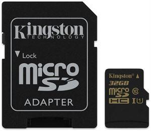 Kingston 32GB Micro SDHC Class 10 UHS-I SD Card