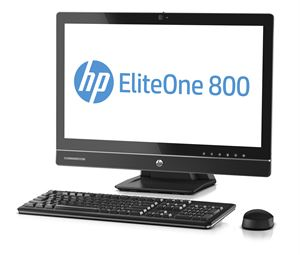 "HP 800 G1 23"" Non-Touch All-In-One -  Intel Core i5-4670S, 4GB RAM, 500GB HDD, DVDRW, Windows 8 Pro 64-Bit"