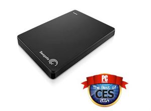 Picture of Seagate 1TB Back-Up Plus Slim USB 3.0 External Hard Drive - Black