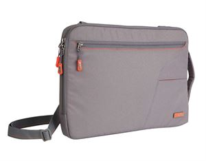 "STM 13"" Small Blazer Grey Sleeved Notebook Bag"