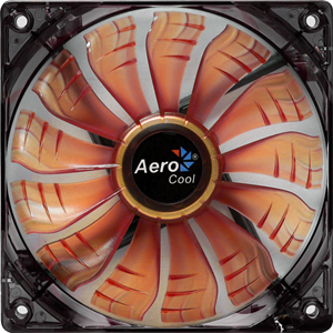 Picture of Aerocool Air Force Fan 120mm- Orange Led