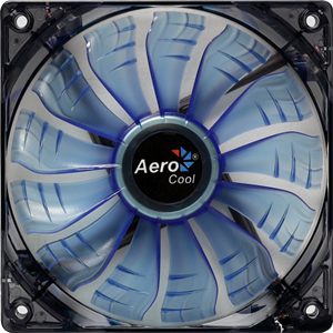 Picture of Aerocool Air Force Fan 120mm- Blue