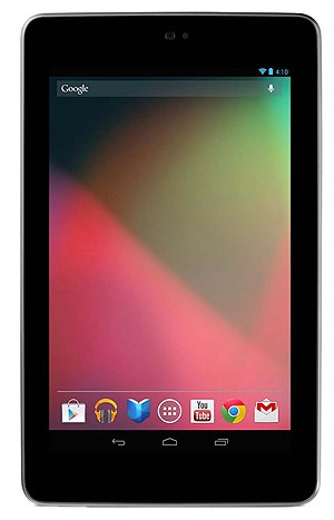 "Picture of 7"" IPS Asus Nexus 7 - Tablet, 32GB Storage, 1GB RAM, Wi-Fi Only - Brown, Gen 1"