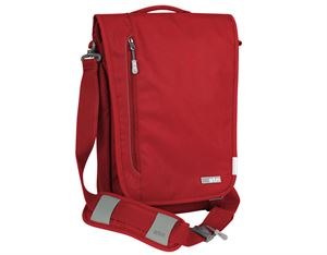 "Stm Linear 13"" Laptop Shoulder Bag- Berry"