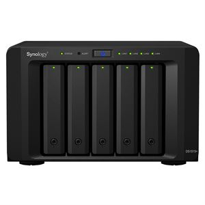 Synology DS1515 + 5 Bay DiskStation, 2GB DDR3 NAS