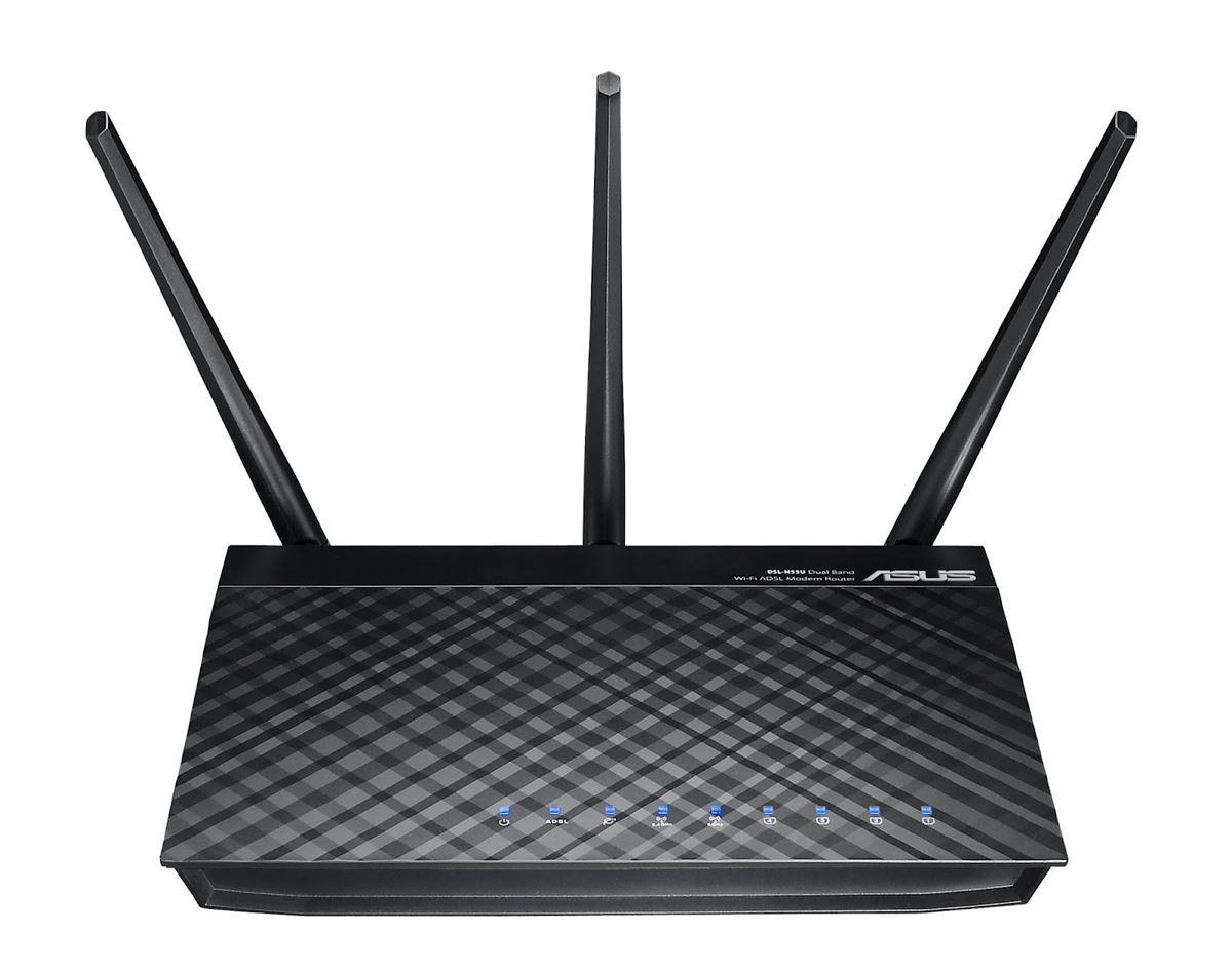 Asus DSL-N55U Dual-Band Wireless-N600 Gigabit ADSL Modem Router