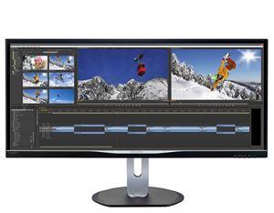"Philips 34"" BDM3470UP UltraWide IPS 3440 x 1440p Monitor"