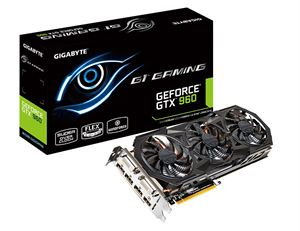 Picture of Gigabyte GeForce GTX 960 G1 Gaming 2GB GDDR5 Graphics Card