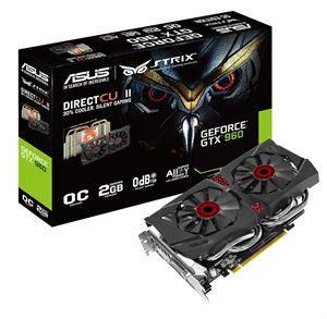 Picture of Asus GeForce GTX 960 2GB Strix 2GB GDDR5 Graphics Card