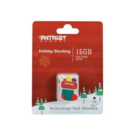 16G PATRIOT HOLIDAY STOCKING