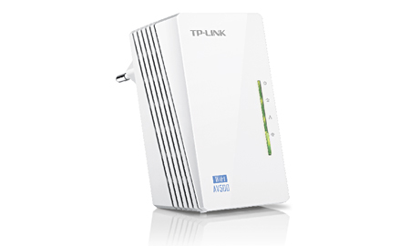 TP-Link WPA4220 AV500 300MB/ps WiFi PowerLine Extender - Single Unit