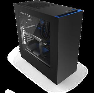 NZXT Source 340 Black/Blue USB3.0