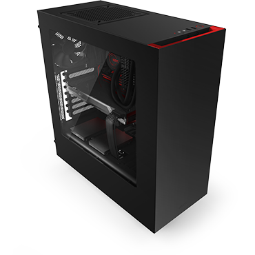 NZXT Source 340 Black/Red USB3.0