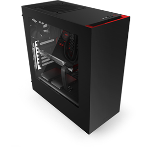 NZXT Source 340 Black/Red USB3.0 Mid-Tower Case