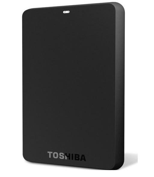 Toshiba 500GB Canvio Basic A2 USB 3.0 Portable External Hard Drive - Black