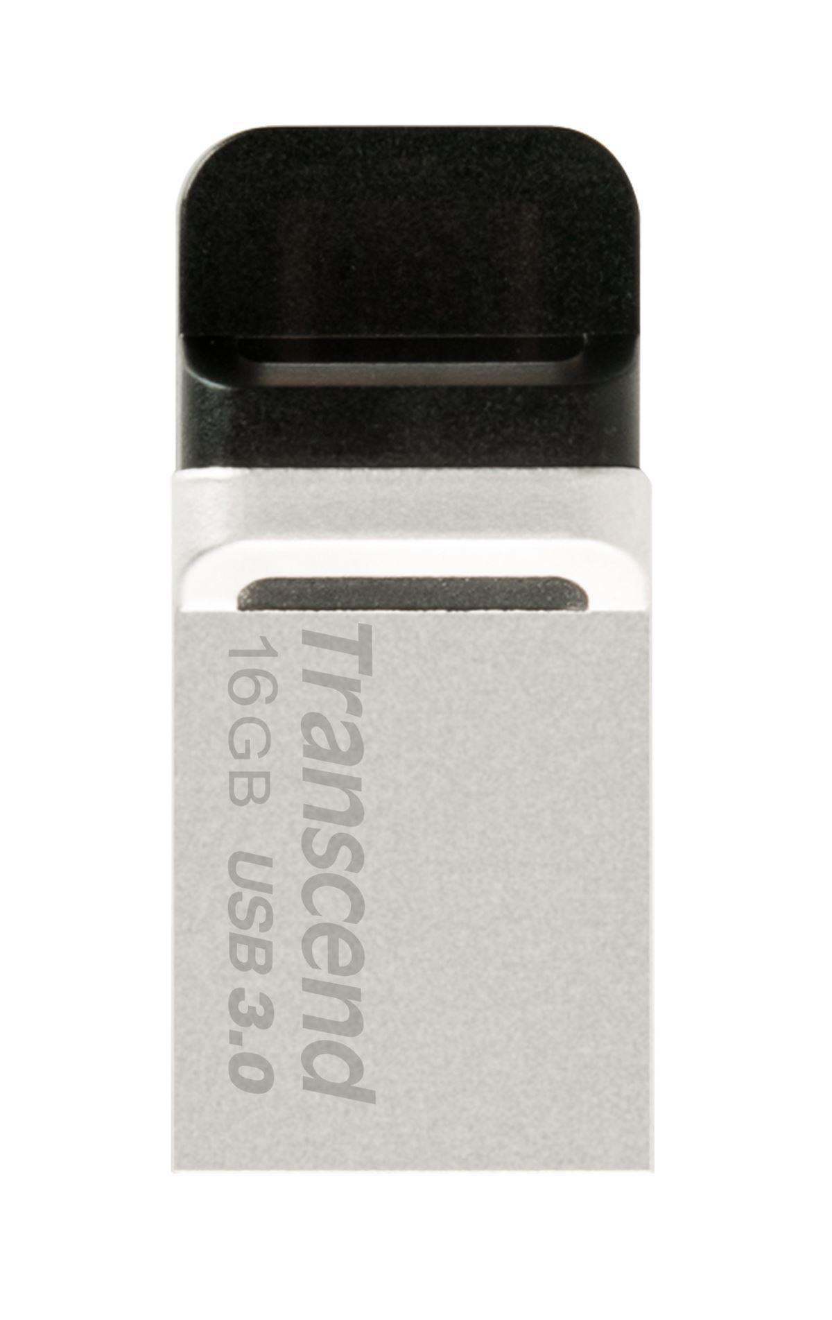 16GB Transcend Jetflash®880 USB3.0 OTG Flash Drive