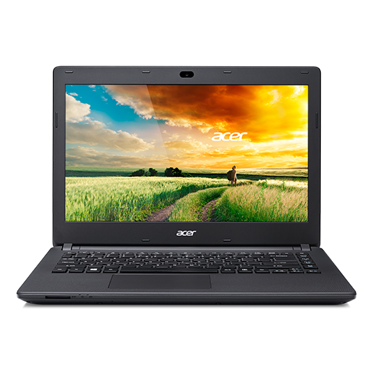 "Acer ES1-411-P2LF 14"" HD Display - Intel Pentium N3540 Quad-Core, 2GB RAM, 500GB HDD, Windows 8 Bing, 1 Year Warranty"