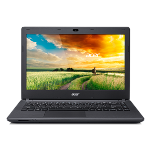 "Acer ES1-411-P2LF 14"" HD Display - Intel Pentium N3540 Quad-Core, 2GB RAM, 500GB HDD, Windows 8, 1 Year Warranty"