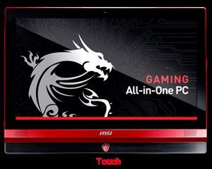 "MSI AG240 24"" Full-HD Touch Display - Intel Core i7 4710HQ, 16GB RAM, 128GB SSD + 1TB HDD, GTX 860M 2GB Dedicated Graphics, DVDSm, Windows 8, 1 Year Warranty"