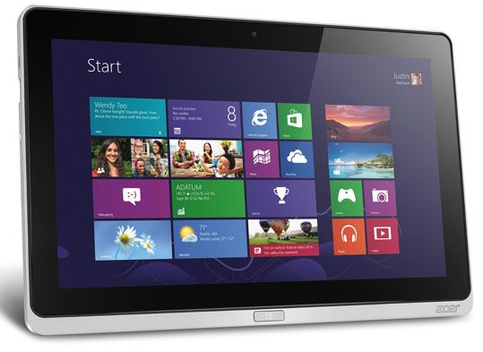 "Acer Iconia W700 11.6"" Full-HD IPS Tablet, Intel Core i5,128GB SSD, Wi-Fi, Windows 8, 1 Year Warranty"