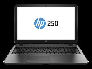 """HP 250 15.6"""" HD Display - Intel Core i3-4005U, 4GB, 500GB HDD, DVDRW, WirelessLAN, Bluetooth, Win 8.1"""