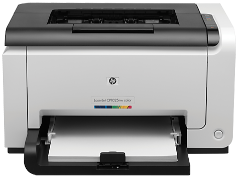 HP LaserJet Pro Colour Wireless Printer - CP1025nw