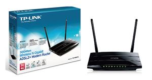 TP-Link TD-W8970 300Mbps Wireless N Gigabit ADSL2+ Modem Router with 1 USB Port