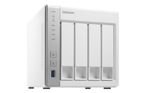 Qnap TS-431 4-Bay TurboNAS, 2 Year Warranty For Small Office/Home Office