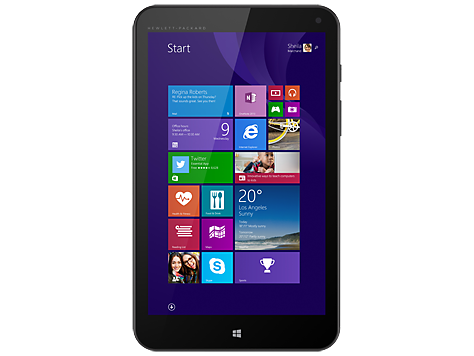 "HP Stream 8, 8"" IPS Touch Display, Intel Atom Z3735G Quad-Core CPU, 32GB eMMC, 1GB RAM, Wi-Fi + Bluetooth 4.0, Windows 8.1"