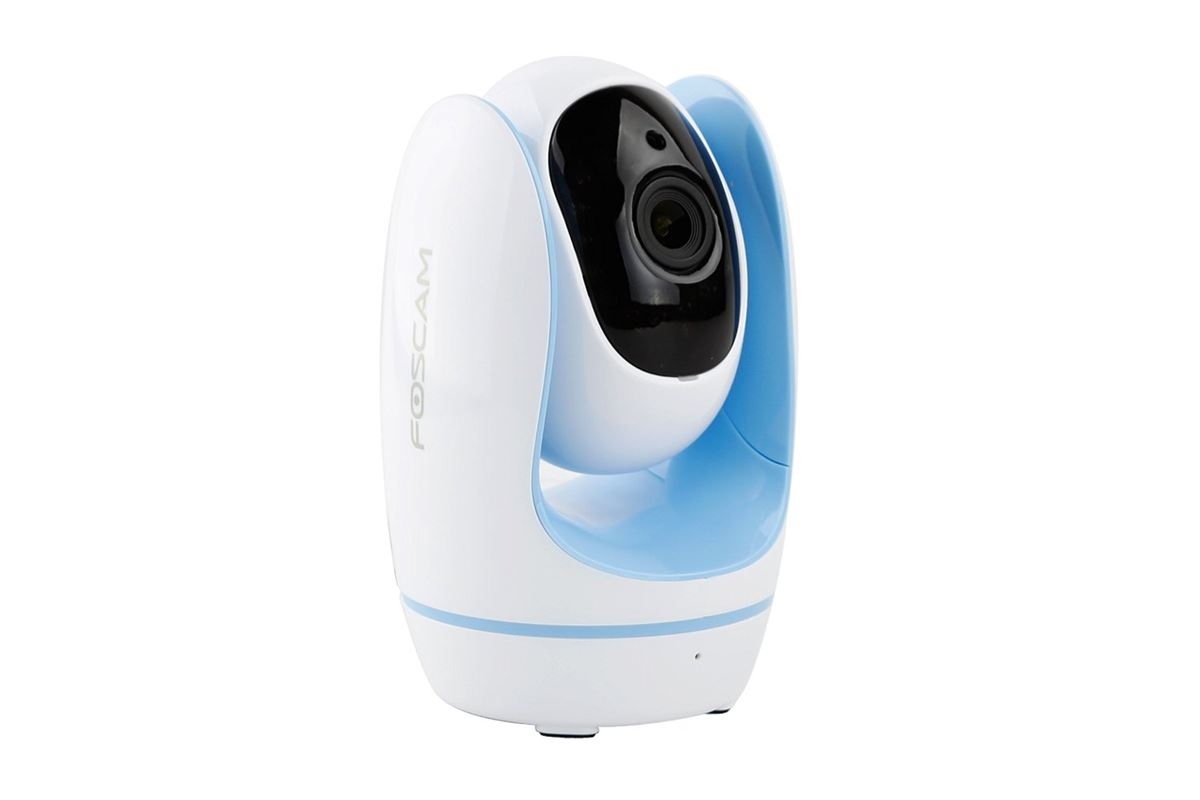 Foscam FosBaby IP Camera - Plays Music Over WiFi, Temperature Detection - Blue