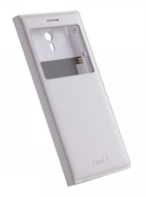 OPPO FIND7 Phone Cover With Window - White