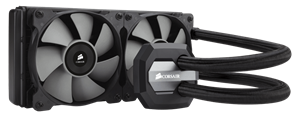 Corsair H100i GTX High Performance Closed-Loop Liquid CPU Cooler