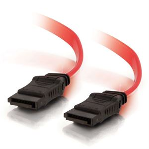 Goldwire 75cm SATA Data Cable - 180 Degrees, Red