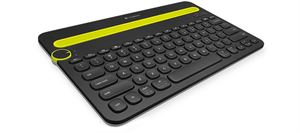 Logitech K480 Multi-Device Bluetooth Keyboard - Black