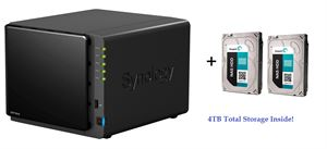 Synology DS415Play Network Attached Storage Device - With 4TB NAS Storage Inside!