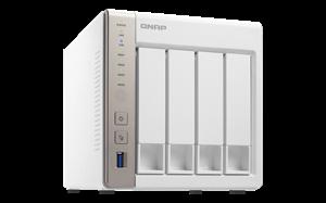 Qnap TS-451 4-Bay High-End NAS - 2.4GHz Celeron, 1GB RAM, 2 Year Warranty