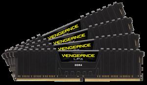 Corsair Vengeance LPX 32GB (4 x 8GB) DDR4 2666MHz RAM - CMK32GX4M4A2666C16