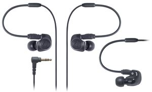 Audio-Technica ATH-IM50 In-Ear Monitor Headphones - Black