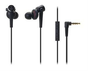 Audio-Technica ATH-CKS99I Premium Bass In-Ear Headphones With 3-Button Controls - Black