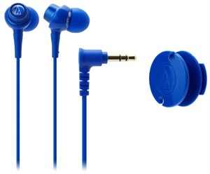 Audio-Technica ATH-CKL203BL In-Ear Headphones - Blue