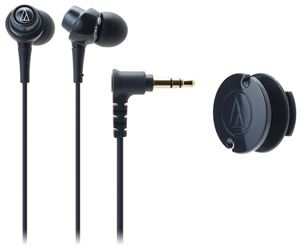 Audio-Technica ATH-CKL203BK In-Ear Headphones - Black