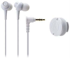 Audio-Technica ATH-CKL203WH In-Ear Headphones - White