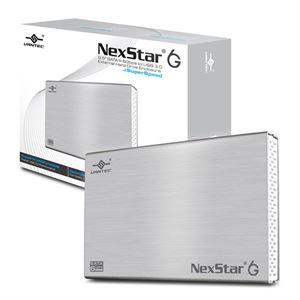 """Vantec NexStar USB 3.0 2.5"""" SATA Hard Drive Enclosure - Silver"""