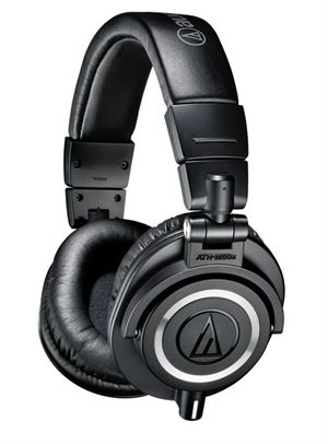 Audio-Technica M50X Premium Studio Monitoring Headphones - Black - ATH-M50X-BK