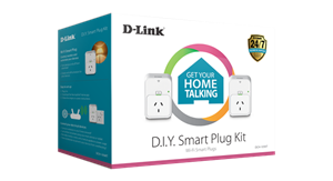 D-Link D.I.Y. Smart Plug Kit - 2 x DSP-W215 For Home Monitoring/Automation