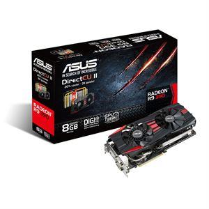 Asus Radeon R9 390 DirectCU-II 8GB GDDR5 Graphics Card