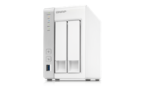 QNAP 2 Bay TS-231 NAS, 3G, 1.2Ghz CPU, 512MB RAM, 2 Year Warranty