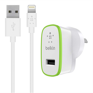Belkin Boost Up 12w Wall Charger with Lightning Cable