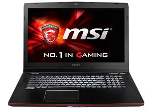 "MSI GE72 Apache 17.3"" Full-HD Display - Intel Core i7 5700HQ, 8GB RAM, 128GB SSD + 1TB HDD, GTX960M 2GB Dedicated Graphics DVDRW, Windows 8.1, 2 Year"